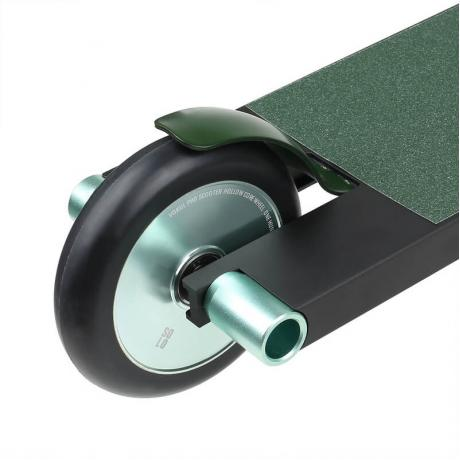 Самокат для трюков VOKUL SOLO зеленый хром