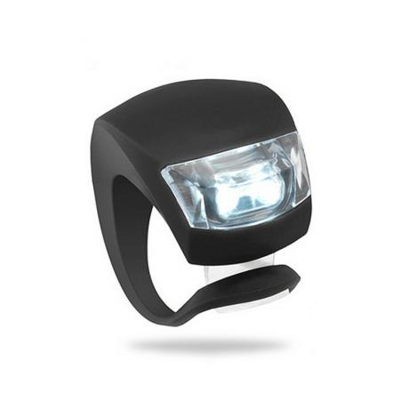 Фонарик на самокат светодиодный (силиконовый корпус)