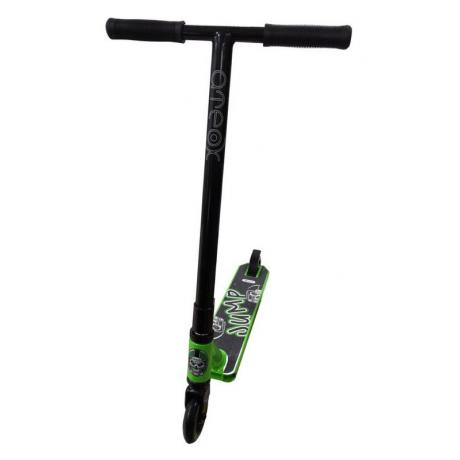 Самокат трюковой ATEOX JUMP (Черный/Зеленый)
