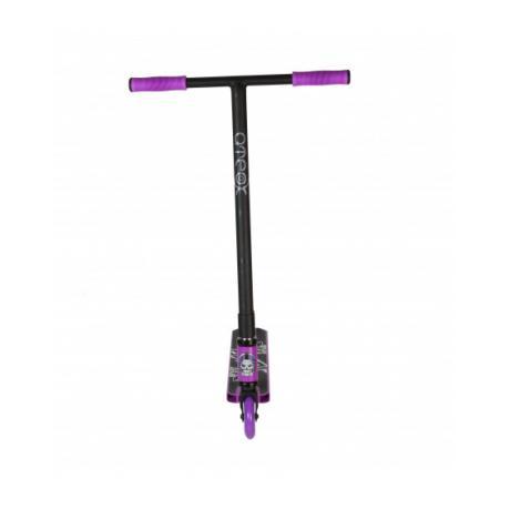 Самокат трюковой ATEOX JUMP (Черный/фиолетовый) 2021