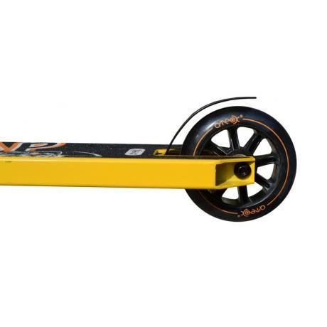 Самокат трюковой ATEOX JUMP (Черный/желтый) 2020