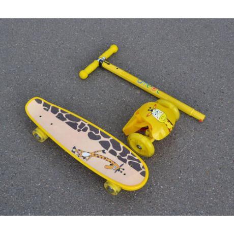 Самокат скейт ATEOX