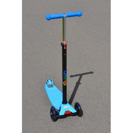 Самокат трехколесный ATEOX MAXI (голубой)