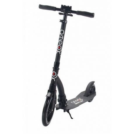 Самокат ATEOX MOVE 230 с большим передним колесом (черный)