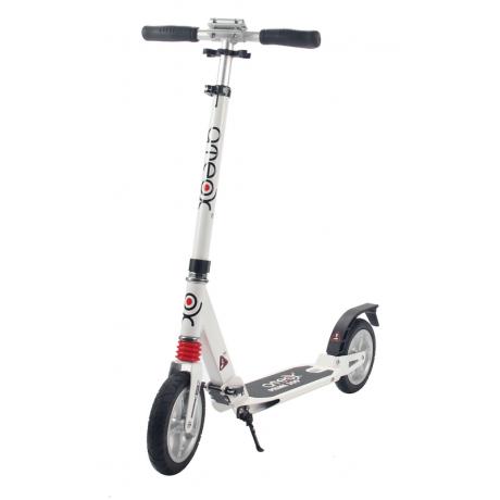 Самокат для взрослых ATEOX PRIME 300 с надувными колесами (белый)