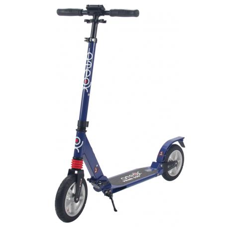 Самокат для взрослых ATEOX PRIME 300 с надувными колесами (синий)