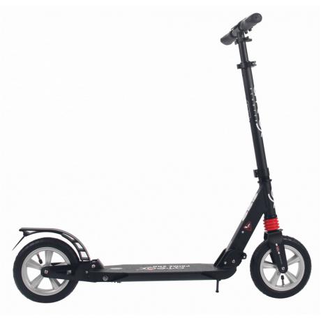 Самокат для взрослых ATEOX PRIME 300 с надувными колесами (черный)