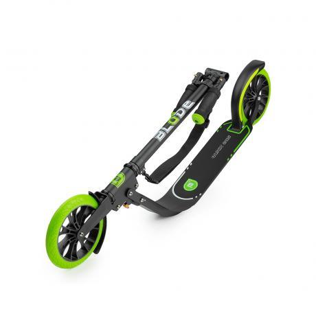 Самокат BLADE Sport Quick 205, black/green matt