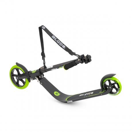 Самокат BLADE Sport PU V4 205+145, black/green