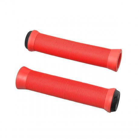 Грипсы Fox  L140 мм красные