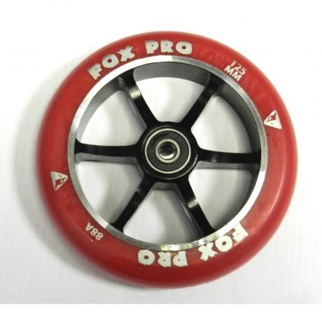 Колесо  6ST 125 mm  разбор (красный-черный)