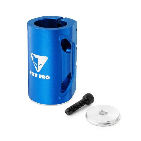 Хомут-О Fox SCS d 28.6 and 31.8, 4 bolts синий