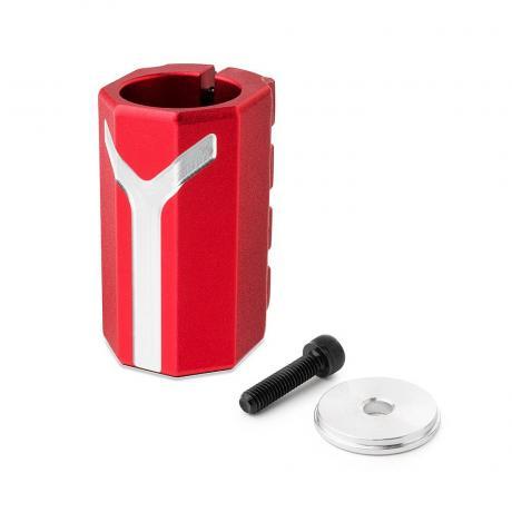 Хомут-Y Fox SCS d 28.6 and 31.8,  4 bolts красный