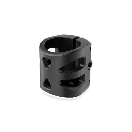 Хомут-D Fox HIC d 34.9, 3 bolt oversized черный