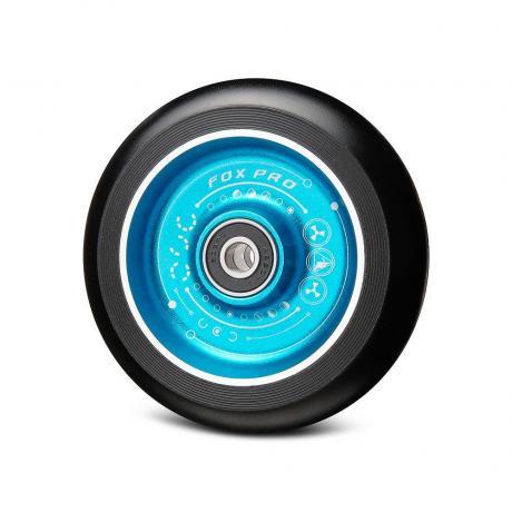 Колесо Flat Solid 100 мм с рисунком (синий-черный)