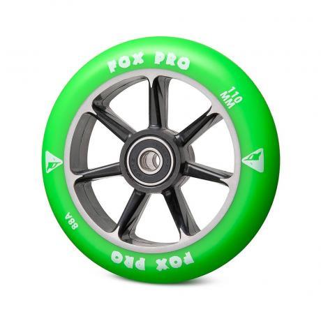 Колесо 7ST 110 мм (черный-зеленый)