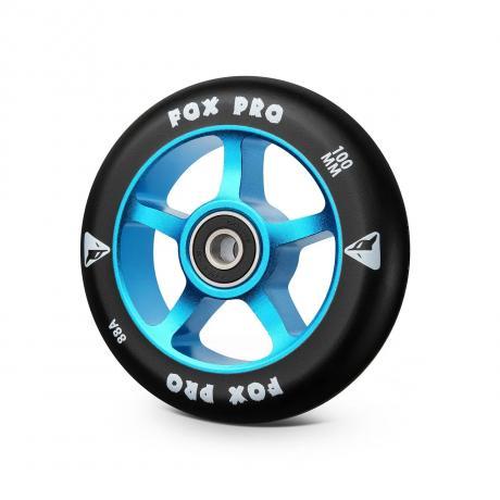 Колесо 5ST 100 мм разбор (синий-черный)