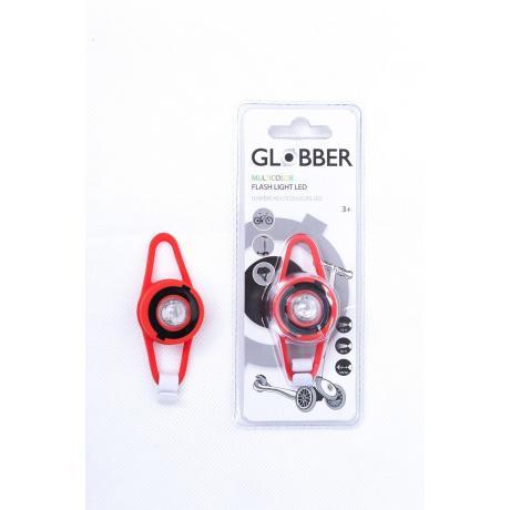 Светодиодный фонарь Globber Flash Lights Led красный