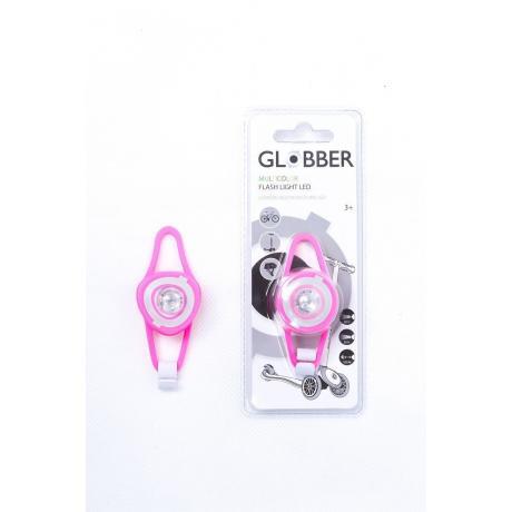 Светодиодный фонарь Globber Flash Lights Led розовый