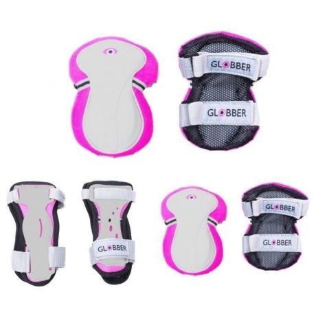 Защита Globber Protective Junior Set XS (25-50KG) розовый