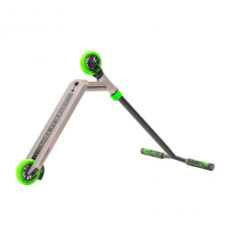 Трюковой самокат Triad Infraction (серый / зеленый)