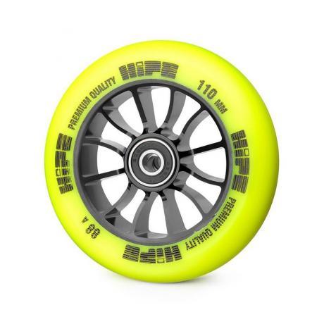 Колесо HIPE 01 110 mm Черный/желтый