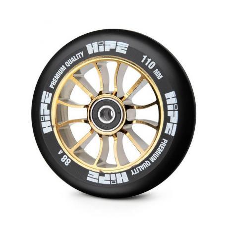 Колесо HIPE 01 110 mm Золотой/черный