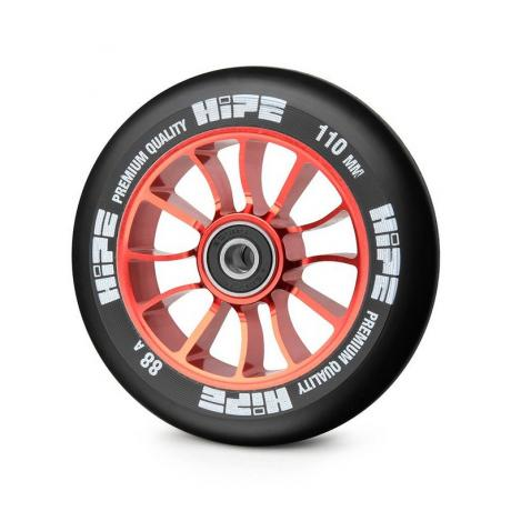 Колесо HIPE 01 110 mm Красный/черный