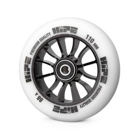 Колесо HIPE 01 110 mm Черный/белый