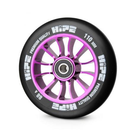 Колесо HIPE 01 110 mm Сиреневый/черный