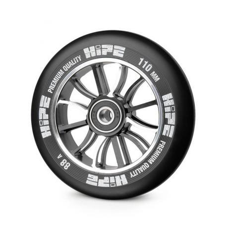 Колесо HIPE 01 hollow 110 mm Черное