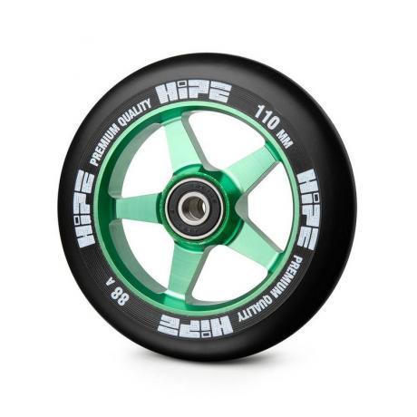 Колесо HIPE 09 110 mm Зеленый/черный