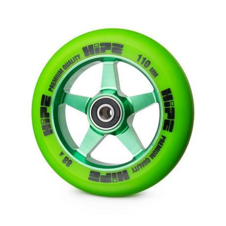 Колесо HIPE 09 110 mm Зеленое