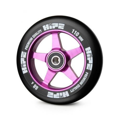 Колесо HIPE 09 110 mm Сиреневое/черное