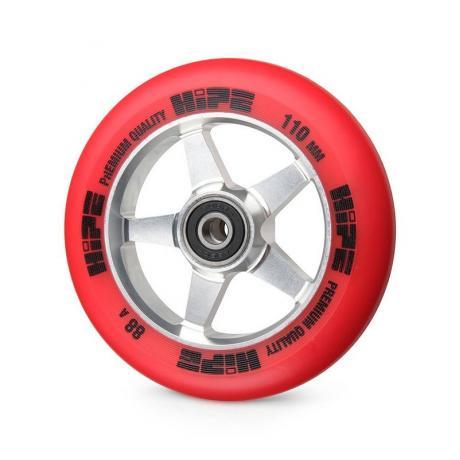 Колесо HIPE 09 110 mm Серебро/красное