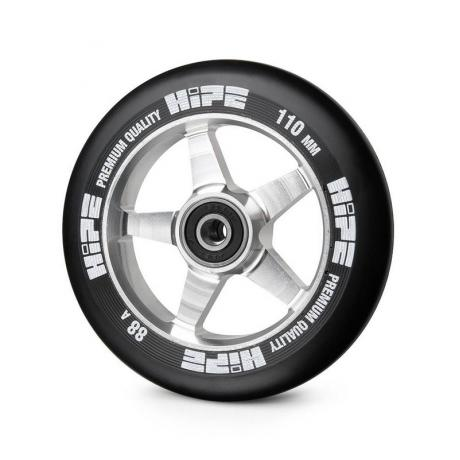 Колесо HIPE 09 110 mm Серебро/черное