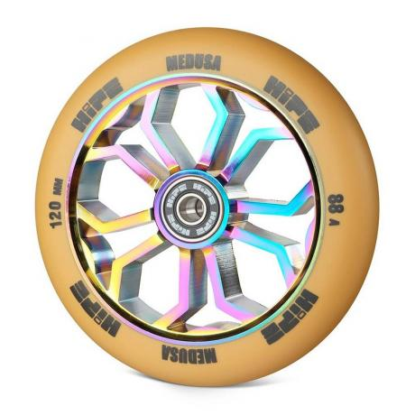 Колесо HIPE Medusa wheel LMT36 120 мм Коричневый/neo-chrome