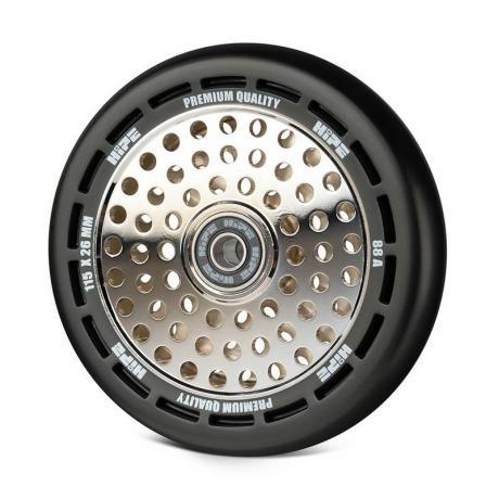 Колесо HIPE wheel 115 мм Черный/серебро