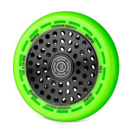 Колесо HIPE wheel 115 мм Зеленый/черный