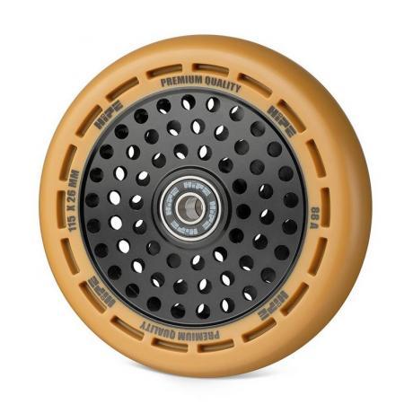 Колесо HIPE wheel 115 мм Коричневый/черный