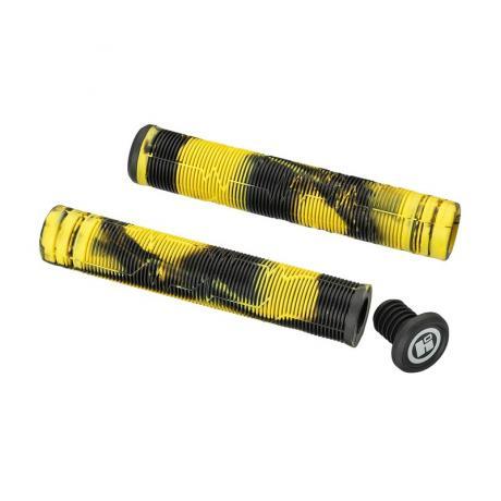 Грипсы HIPE H05 Duo 170 мм черный/желтый
