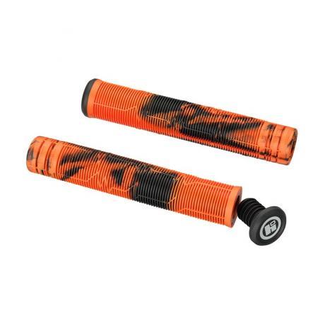 Грипсы HIPE H05 Duo 170 мм черный/оранжевый