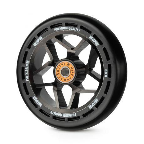 Колесо HIPE H01V2 115мм black/black