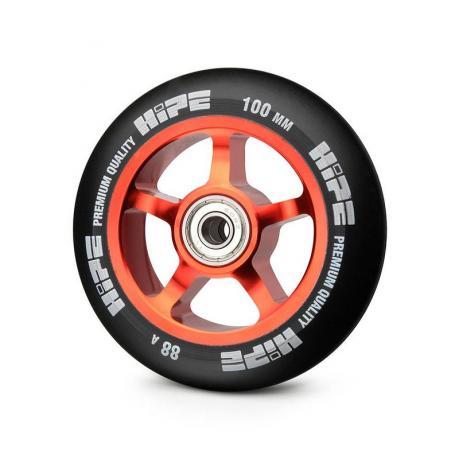 Колесо HIPE 5-Spoke  100 mm Красный/черный