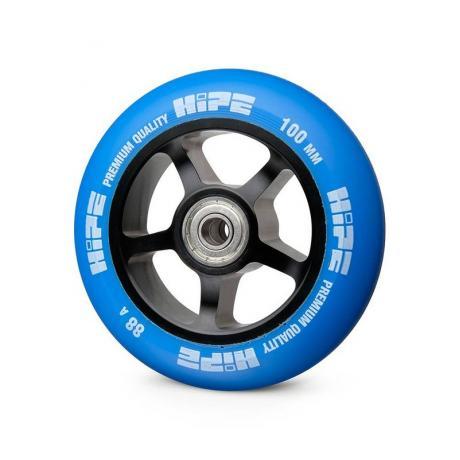 Колесо HIPE 5-Spoke  100 mm Черный/синий