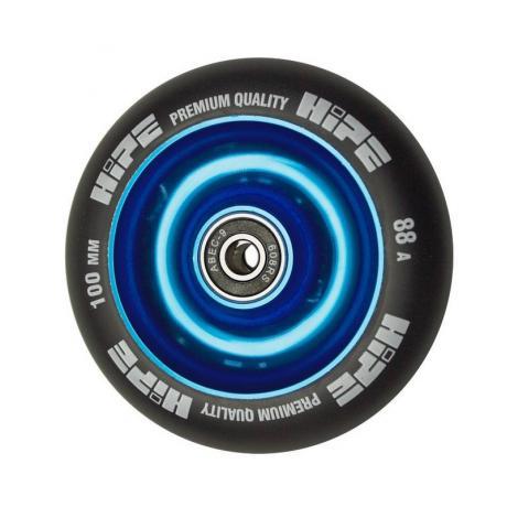 Колесо HIPE Solid  100 mm Синий/черный