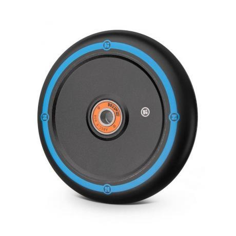 Колесо Hipe Flat Solid logo 110 мм  черный/черный-синий