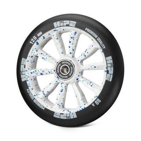 Колесо HIPE WLMT09L 120 мм Белый/синий