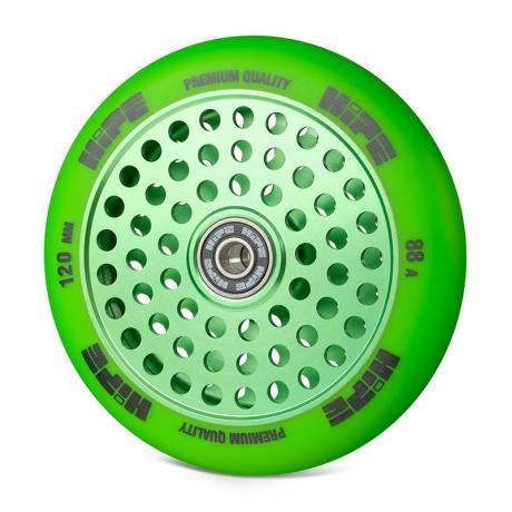 Колесо HIPE H20 120 мм Зеленый/зеленый