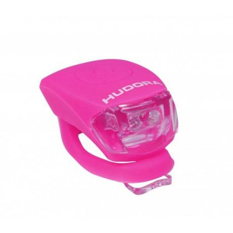Фонарик Hudora Led Licht Shine розовый